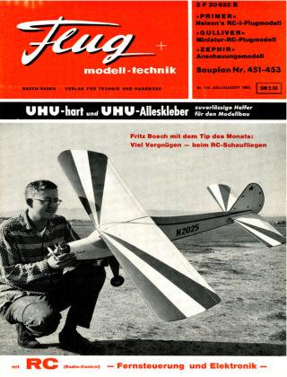 FMT - FLUGMODELL UND TECHNIK 07/1965