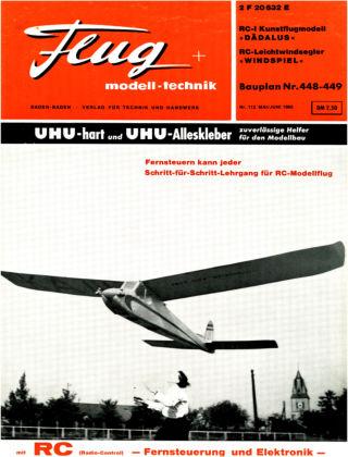 FMT - FLUGMODELL UND TECHNIK 05/1965