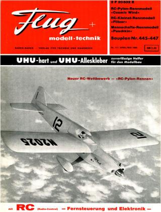 FMT - FLUGMODELL UND TECHNIK 04/1965