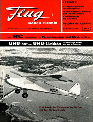 FMT - FLUGMODELL UND TECHNIK 01/1965