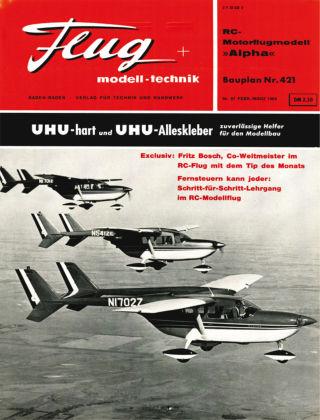 FMT - FLUGMODELL UND TECHNIK 03/1964