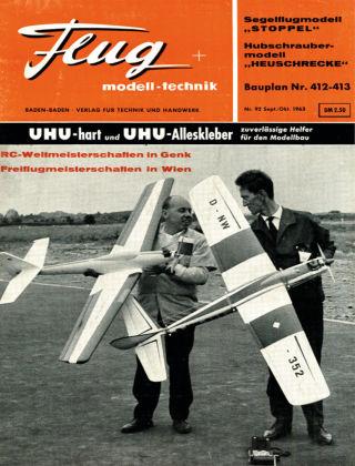 FMT - FLUGMODELL UND TECHNIK 10/1963