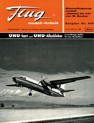 FMT - FLUGMODELL UND TECHNIK 08/1963