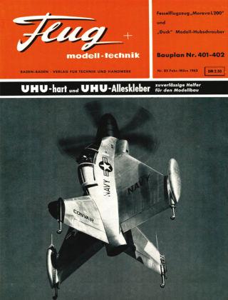 FMT - FLUGMODELL UND TECHNIK 03/1963