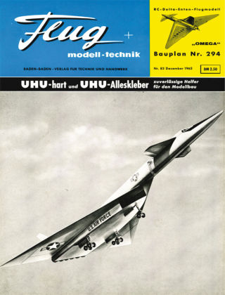 FMT - FLUGMODELL UND TECHNIK 12/1962