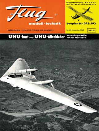 FMT - FLUGMODELL UND TECHNIK 11/1962