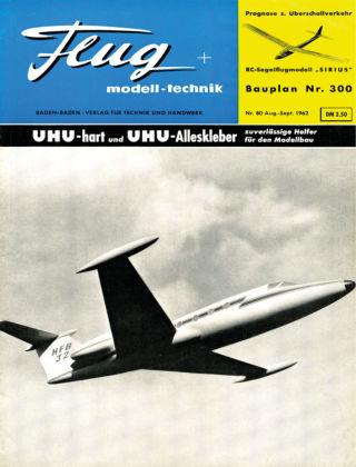 FMT - FLUGMODELL UND TECHNIK 08/09/1962