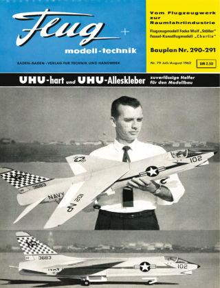 FMT - FLUGMODELL UND TECHNIK 07/08/1962