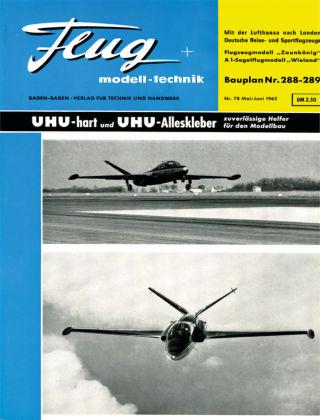 FMT - FLUGMODELL UND TECHNIK 05/06/1962