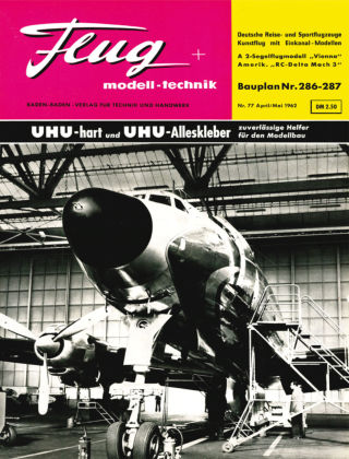 FMT - FLUGMODELL UND TECHNIK 04/05/1962