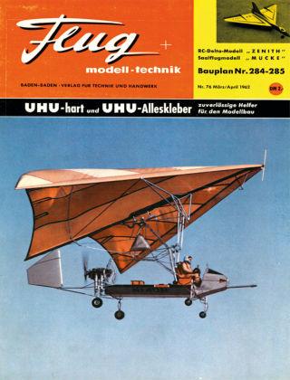 FMT - FLUGMODELL UND TECHNIK 03/04/1962