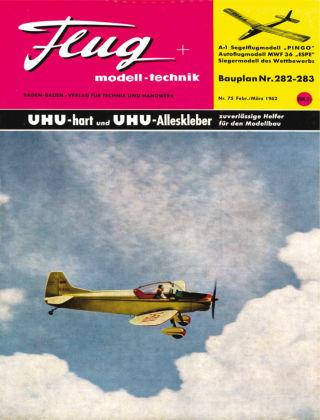 FMT - FLUGMODELL UND TECHNIK 02/03/1962