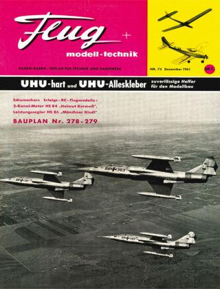 FMT - FLUGMODELL UND TECHNIK 12/1961