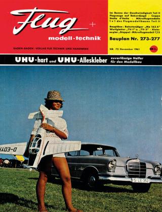 FMT - FLUGMODELL UND TECHNIK 11/1961