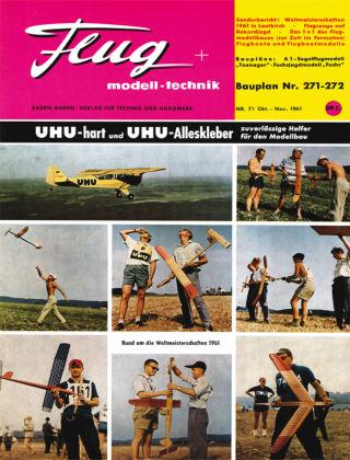 FMT - FLUGMODELL UND TECHNIK 10/11/1961