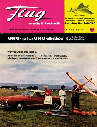 FMT - FLUGMODELL UND TECHNIK 08/09/1961