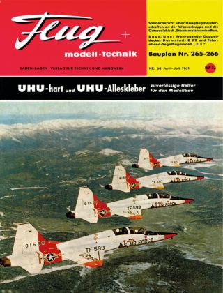 FMT - FLUGMODELL UND TECHNIK 06/07/1961