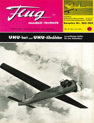FMT - FLUGMODELL UND TECHNIK 05/06/1961