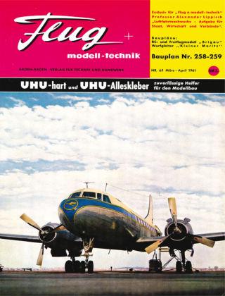 FMT - FLUGMODELL UND TECHNIK 03/04/1961