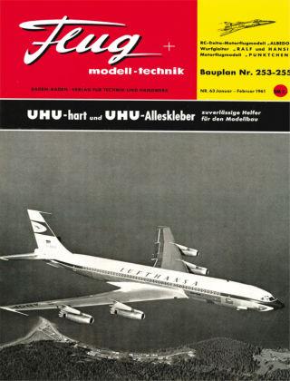 FMT - FLUGMODELL UND TECHNIK 01/02/1961