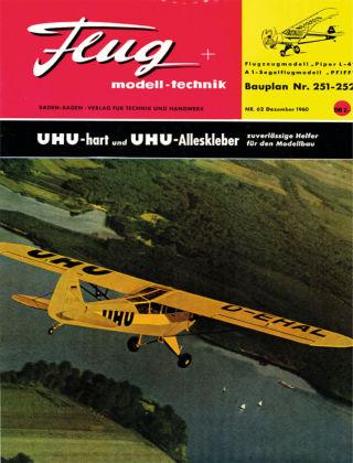 FMT - FLUGMODELL UND TECHNIK 12/1960