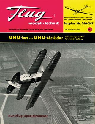 FMT - FLUGMODELL UND TECHNIK 10/1960