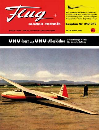 FMT - FLUGMODELL UND TECHNIK 08/1960