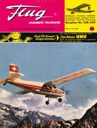 FMT - FLUGMODELL UND TECHNIK 07/1960