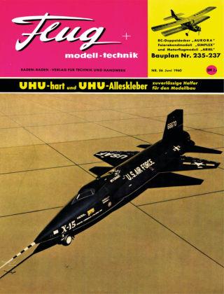 FMT - FLUGMODELL UND TECHNIK 06/1960