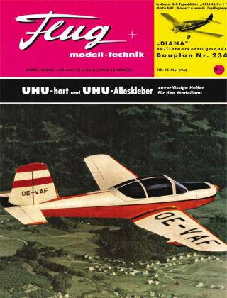 FMT - FLUGMODELL UND TECHNIK 05/1960
