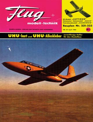 FMT - FLUGMODELL UND TECHNIK 04/1960