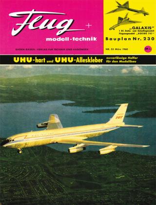 FMT - FLUGMODELL UND TECHNIK 03/1960