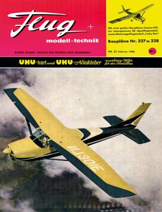 FMT - FLUGMODELL UND TECHNIK 02/1960