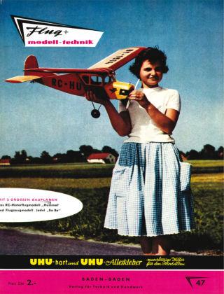 FMT - FLUGMODELL UND TECHNIK 07/1959