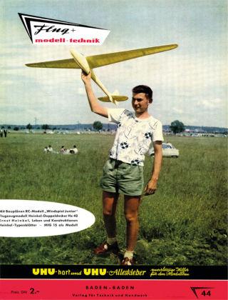 FMT - FLUGMODELL UND TECHNIK 04/1959