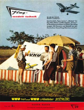 FMT - FLUGMODELL UND TECHNIK 09/10/1958