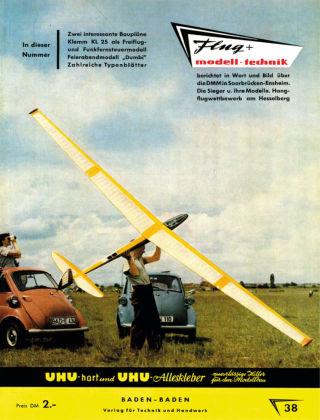 FMT - FLUGMODELL UND TECHNIK 08/1958