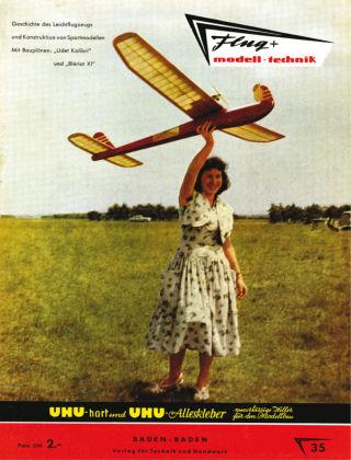 FMT - FLUGMODELL UND TECHNIK 05/1958