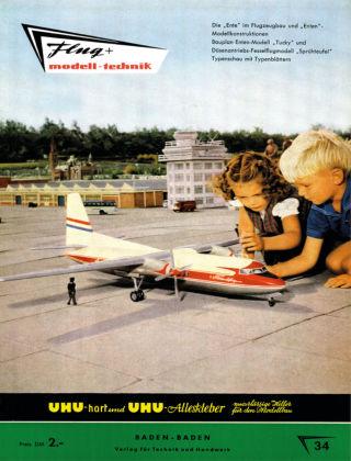 FMT - FLUGMODELL UND TECHNIK 04/1958