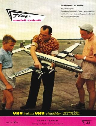 FMT - FLUGMODELL UND TECHNIK 03/1958