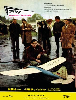 FMT - FLUGMODELL UND TECHNIK 02/1958
