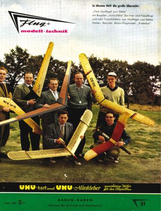 FMT - FLUGMODELL UND TECHNIK 01/1958