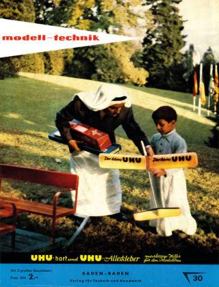 FMT - FLUGMODELL UND TECHNIK 11/12/1957