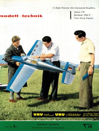 FMT - FLUGMODELL UND TECHNIK 07/08/1957
