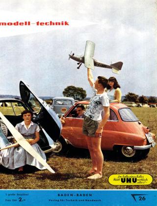 FMT - FLUGMODELL UND TECHNIK 03/04/1957