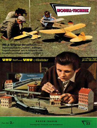 FMT - FLUGMODELL UND TECHNIK 07/08/1956