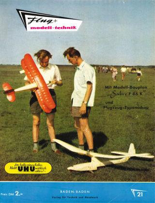 FMT - FLUGMODELL UND TECHNIK 05/06/1956