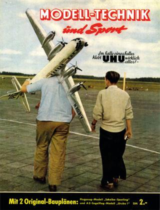 FMT - FLUGMODELL UND TECHNIK 07/08/1955
