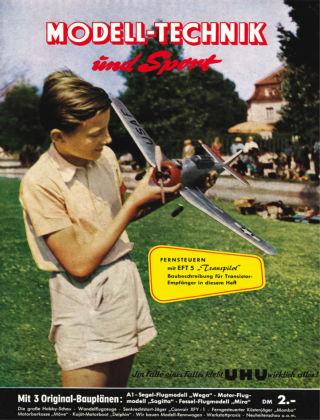 FMT - FLUGMODELL UND TECHNIK 05/06/1955