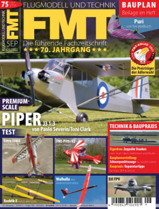 FMT - FLUGMODELL UND TECHNIK 09/2021
